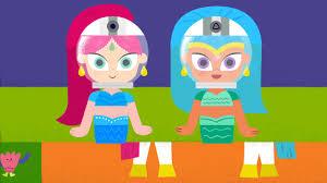 shimmer and shine nickelodeon tv id halloween 2015 on vimeo