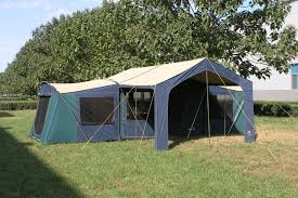 diamantina riviera 3 room canvas tent kangaroo tent city and bbqs