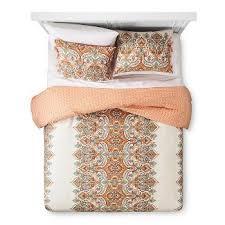orange bedding sets u0026 collections target