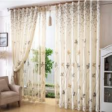 Country Style Curtains For Living Room by Pastoral Style Linen Jacquard Blue Plaid Country Curtains For Kids