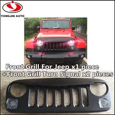 jeep front grill black plastic front grill with angry bird style for jeep buy for