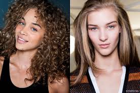 voluminous hairstyles for thin hair straight vs curly