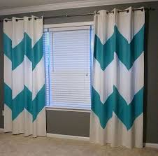 awesome teal and white curtains contemporary design ideas 2018