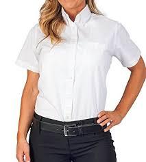 womens longer tail short sleeve oxford shirt at amazon women u0027s