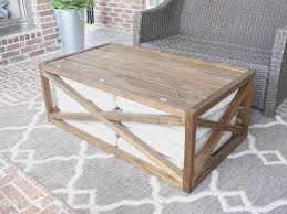 coffe table view teak outdoor coffee table home design planning