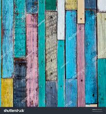 decorative colorful wood wall stock photo 98044661