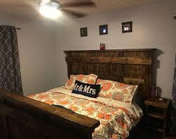 Platform Style Bed Frame Wooden Platform Bed Etsy