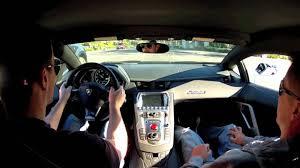 driving lamborghini aventador
