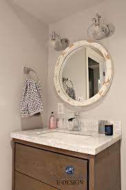 bathroom update ideas small bathroom update ideas wood vanity marble countertop