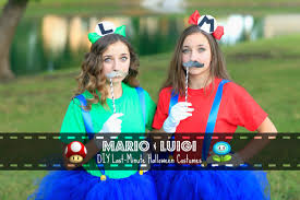 mario u0026 luigi last minute diy halloween costumes youtube
