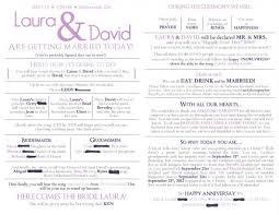 wedding program templates word emejing wedding ceremony program contemporary styles