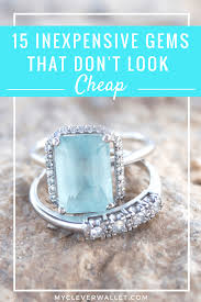 inexpensive engagement rings 15 inexpensive engagement rings that don t look cheap my clever