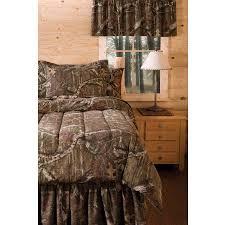 Queen Size Comforter Sets At Walmart Mossy Oak Infinity Bedding Comforter Set Walmart Com