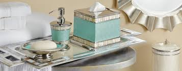 shop luxury bath accessories dispensers tumblers and tissues