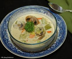 creamy broccoli mushroom soup soupsaturdayswappers the saucy