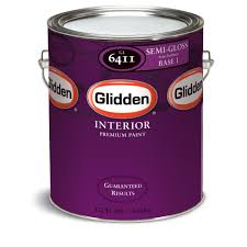 glidden premium 1 gal semi gloss interior paint gln6413 01 the