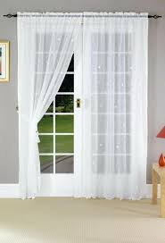 Sidelight Curtain by Front Doors Stupendous Front Door Curtain Rail For Modern Home
