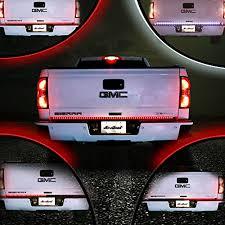 60 inch led light bar mictuning 60 inch truck tailgate light bar led red white reverse