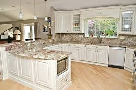 granite kitchen ideas granite countertops with white cabinets sowingwellness co