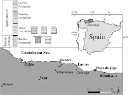 Asturias Spain Map by Paleoenvironmental Reconstruction Of Jurassic Dinosaur Habitats Of