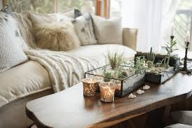 Terrarium Coffee Table by Spring Decorating Trends