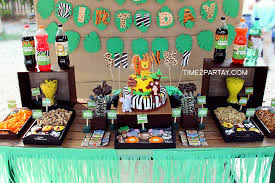 jungle themed birthday party jungle birthday party ideas photo 5 of 45 catch my party