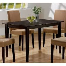 Coaster Dining Room Chairs Crafted From Tropical Wood Dining Table Sets With Coaster Hyde