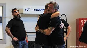 richard rawlings long hair behind the scenes at elite powersports abel racing garage rehab
