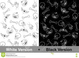halloween background textures halloween background pattern skull bone hand bat pumpkin white b