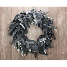handmade rag wreaths for sale orange crafts