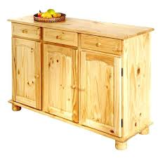 buffet cuisine en pin cuisine en bois cdiscount meuble cuisine en pin massif buffet de