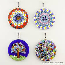 glass necklace pendants wholesale images Wholesale millefiori pendants wholesale murano glass and murano jpg