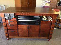 check out this very cool workbench woodworking pinterest