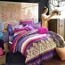 Tribal Print Bedding Bedding Design Cool Patterned Bedding Bedroom Design Ideas