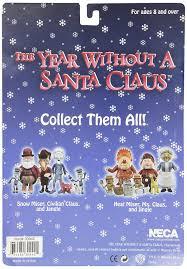 amazon com year without a santa claus heat miser action figure