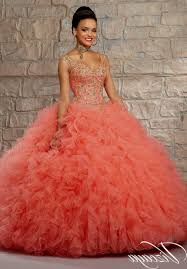 quinceanera dresses coral quinceanera dresses coral and gold naf dresses