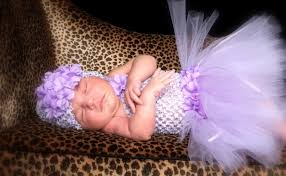 lavender bouquet crochet baby or infant tutu dress lavender tutu