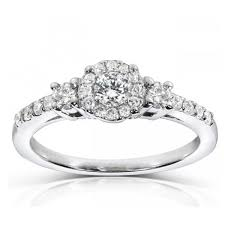engagement rings affordable affordable halo engagement ring jewelocean
