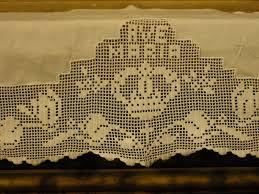 imagenes religiosas a crochet visitando algumas igrejas me deparei com barrados motivos