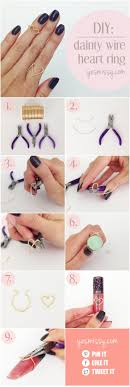 make rings images 20 easy step by step diy tutorials for making a ring pretty designs jpg