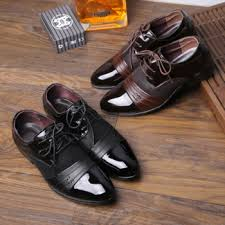 dl10003a 2017 new model leather shoes cheap men leather dress