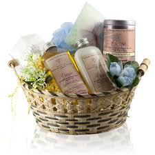 gift packages get well spa gift bag oils organic lotions creams