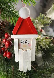 the craft patch popsicle stick santa craft for