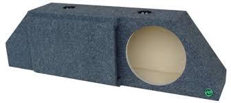 camaro speaker box cam195p ported camaro subwoofer enclosure audio enhancers