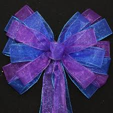 blue bows royal blue wedding bows package bows
