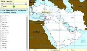 middle east map interactive interactive map of middle east capitals of middle east expert