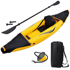 amazon com blue wave sports nomad 1 person inflatable kayak