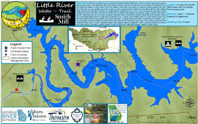 Little Creek Base Map Georgia Water Trails Under Development