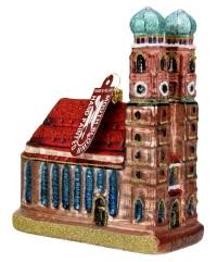 Traditional German Christmas Decorations Traditional German Glass Christmas Ornament Of Munich Cathedral