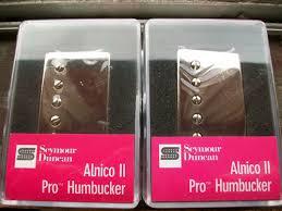 b u0027s seymour duncan humbucker pickup set alnico ii pro aph 1n and